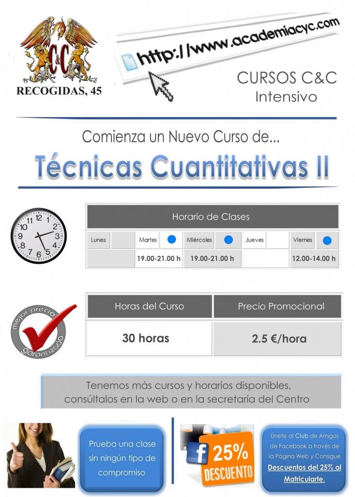 tecnicas cuantitativas II 30 horas 2