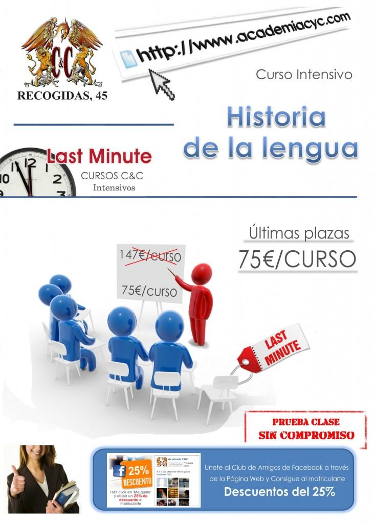 Historia de la lengua lastminute